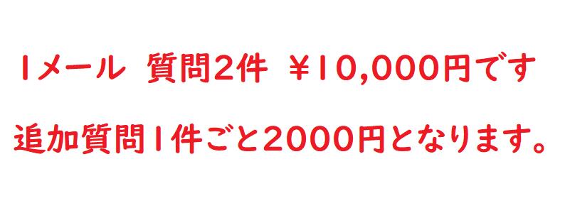 鑑定料金2件10,000円